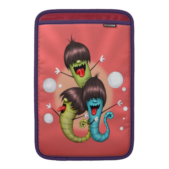 "WORMS ALIENS MONSTERS 2 Macbook Air 11 "" MacBook Sleeve"