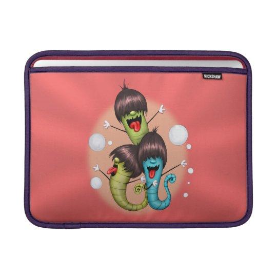 """WORMS ALIENS MONSTERS Macbook Air 13 """" MacBook Air Sleeve"""