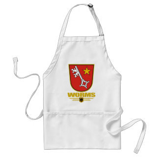 Worms Adult Apron