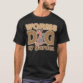Worms Dig My Garden T-Shirt