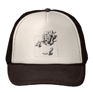 Worms Mesh Hats