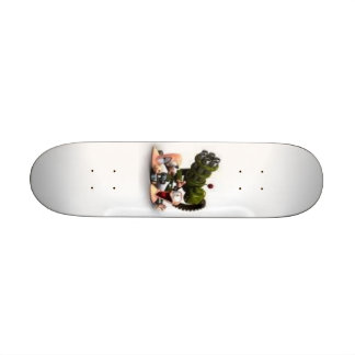 worms skate board deck