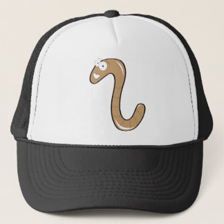 worms trucker hat