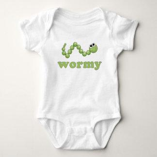 Wormy Baby Bodysuit