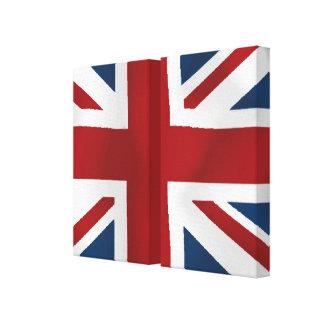 Worn British Union Canvas Print