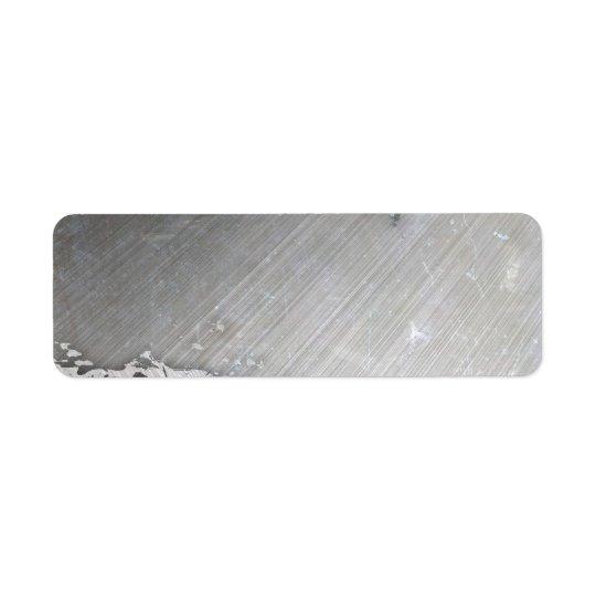 Worn Brushed Metal (faux) Layout