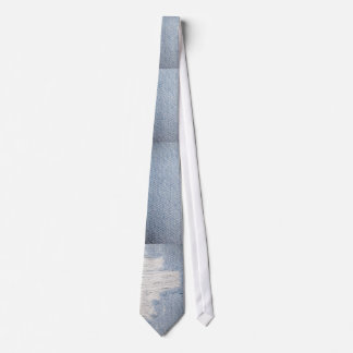Worn Denim-Look Men's Tie