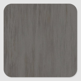 Worn Grungy Brushed Metal Square Sticker