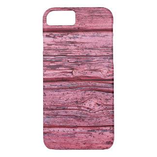 Worn horizontal timber wall iPhone 7 case