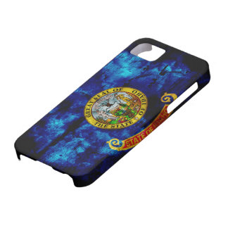 Worn Idaho Flag Case For The iPhone 5