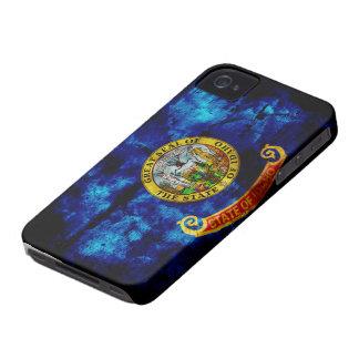 Worn Idaho Flag iPhone 4 Cases