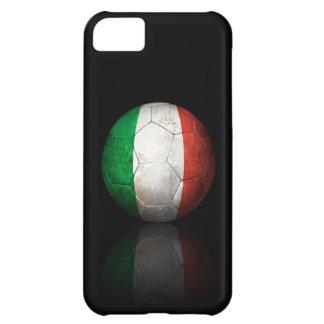 Worn Italian Flag Football Soccer Ball iPhone 5C Case