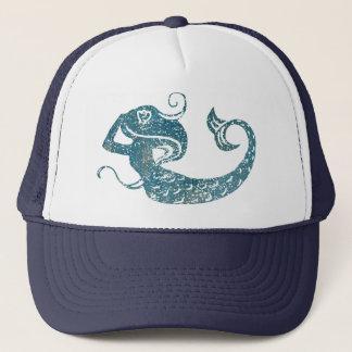 Worn Mermaid Trucker Hat