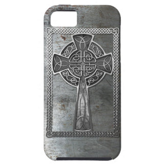 Worn Metal Cross Case For The iPhone 5