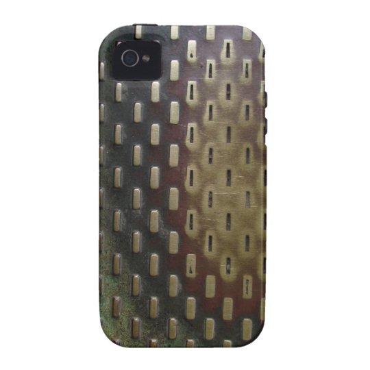 Worn metal surface iPhone 4/4S case