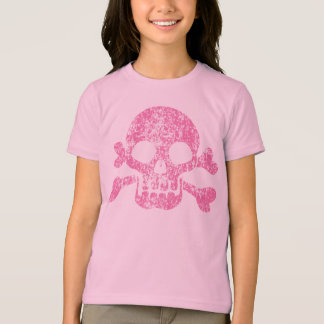 Worn Out Skull and Crossbones Shirt