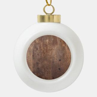 Worn pine board ornaments