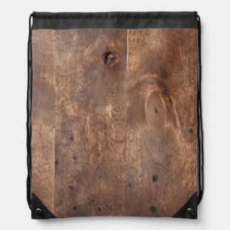 Worn pine board rucksack