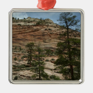 Worn Rock Walls in Zion National Park Christmas Ornament
