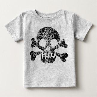 Worn Skull and Crossbones Infant T-Shirt