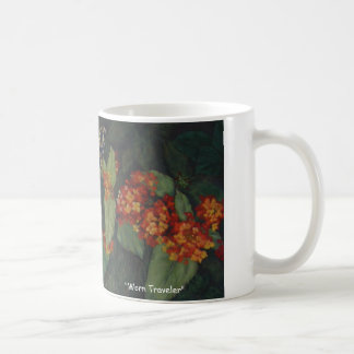 """Worn Traveller"" coffee mug"