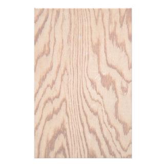 Worn wood grain stationery design