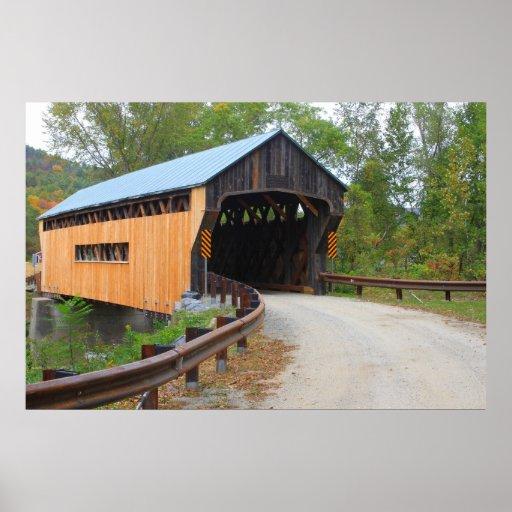 Worral Covered Bridge Vermont Portal Poster