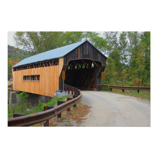 Worral Covered Bridge Vermont Portal Poster