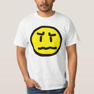 worried face shirts