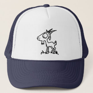 Worried Goat (Plain) Trucker Hat