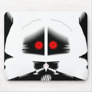 Worried Rabbit Mouse Pad
