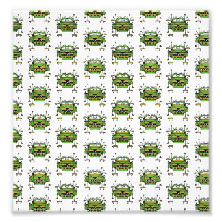 Worried Robot Character Illustration Pattern Art Photo