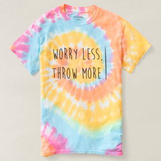 Worry Less, Throw More- Javelin Throw Shirt