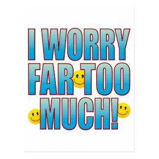 Worry Life B Postcard