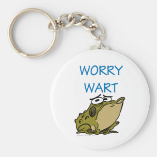WORRY WART KEY RING