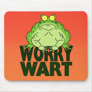 Worry Wart Mouse Pad