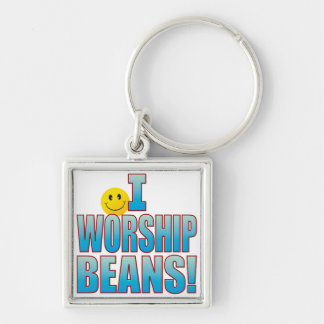 Worship Beans Life B Key Ring