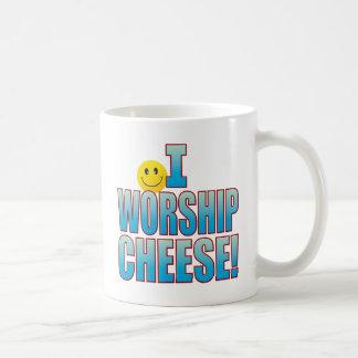 Worship Cheese Life B Coffee Mug