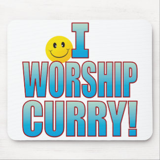 Worship Curry Life B Mouse Mat