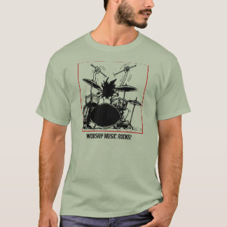 Worship Music Rocks T-Shirt