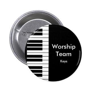 Worship Team, Keys badge