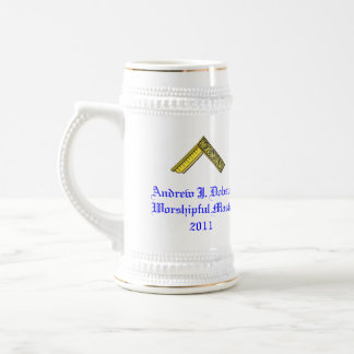 Worshipful Master's Gift Stein Beer Steins