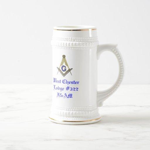 Worshipful Master's Gift Stein Coffee Mugs
