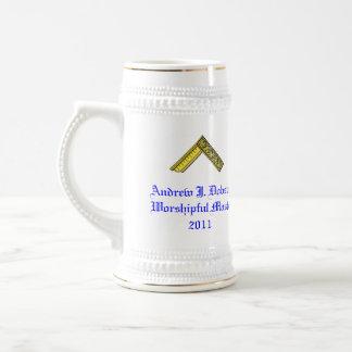 Worshipful Master's Gift Stein 18 Oz Beer Stein