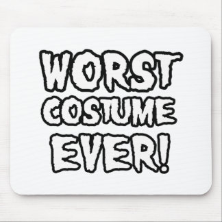 WORST COSTUME EVER MOUSE PADS