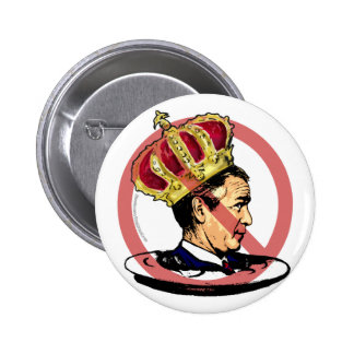 Worst Ever President Anti Bush Gear 6 Cm Round Badge