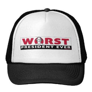 worst president cap