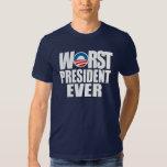 Worst President Ever Tshirts