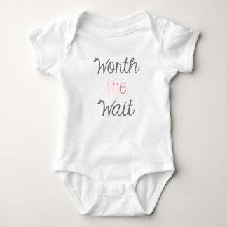 Worth The Wait Baby Body Suit Baby Bodysuit
