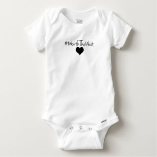 Worth The Wait Baby Onsie Baby Onesie
